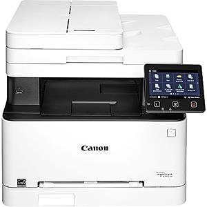 Canon imageCLASS MF642Cdw Wireless Color All-In-One Laser Printer White 3102C012 - $219