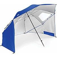 Sport-Brella Sun and Rain Canopy Umbrella for Beach and Sports Events (8-Foot, Blue) -- $30 Amazon