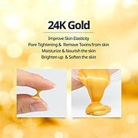 Kangsi Pack 24K Gold Facial Mask for $  8.90 w/code  + Free Prime Shipping