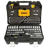 DEWALT 1/4 in. x 3/8 in. Drive Polished Chrome Mechanics Tool Set (142-Piece) @ Home Depot + Free S/H $69