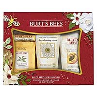 Burt's Bees Face Essentials Gift Set 4 Products in Box, $4.48, prime FS