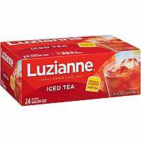 Luzianne Specially Blended For Iced Tea 24 Gallon Size Tea Bags $3.4