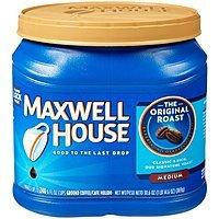 Maxwell House Original Medium Roast Ground Coffee, 30.6 oz (867 g) $  6.93