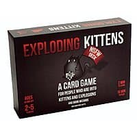 Exploding Kittens: NSFW Edition (Explicit Content) $16.99 at Amazon