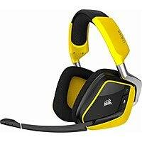 CORSAIR - VOID PRO RGB SE Wireless Dolby 7.1-Channel Surround Sound Gaming Headset for PC - Yellow $69