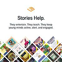 Audible.com free stories for kids as long as school is out Image