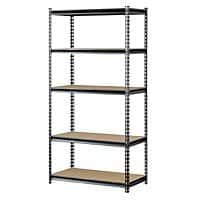 "Muscle Rack 5-Shelf 72"" x 36"" x 18"" Storage Rack $  38.52 + Free Shipping"
