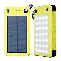 SolarJuice 26800mAh USB-C/QC 3.0 Portable Solar Battery Charger with LED Flashlight $  39.99 AC