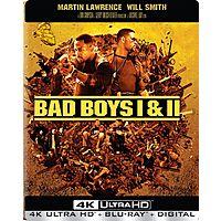 Bad Boys I & II Best Buy Exclusive Steelbook (4K UHD + Blu-ray + Digital HD) $15 + Free S&H for Best Buy Elite Members