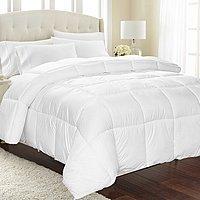 Equinox Down Alternative Comforter (Queen, White) $19.49