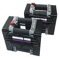 PowerBlock Elite Dumbbells [50-Pounds Dumbbell Set] $225