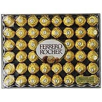 48-Count Ferrero Rocher Hazelnut Chocolates  $10.20