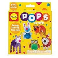 Add-on Item: ALEX Toys POPS Craft Fuzzy Forest Friends $  2.43
