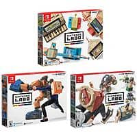 Nintendo Switch Labo Robot Kit + Variety Kit + Vehicle Kit Bundle, $67.95 (possible lower) & Free Shipping