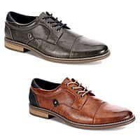 $69.99 Retail Restoration Mens Justin Lace Up Cap Toe Oxford Shoes $17.99