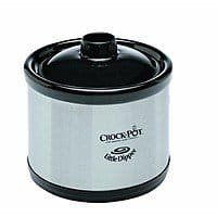 Crock-Pot 6-Quart Countdown Programmable Oval Slow Cooker with Dipper, Stainless Steel, SCCPVC605-S $  39.99