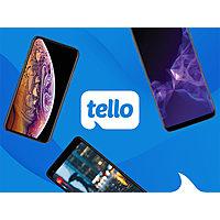 6-Month Tello Prepaid Plan: Unlimited Talk/Text + 2GB LTE Data/Month $29.4