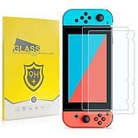 Nintendo Switch Screen Protector, 2 Piece Tempered Glass - $  3.98