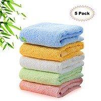 Kyapoo Bamboo Baby Washcloths 5 Pack 48% off free shipping $  5.31