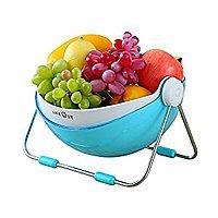 Fruit Bowl Holder, Fruit Vegetable Washing Basket-Storage with 360 Lid, $  14.59 (Regular $  19.99)