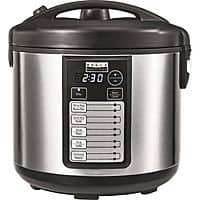 Bella - Pro Series 20-Cup Rice Cooker - Stainless Steel $10