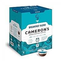 36-count, Cameron's Single Serve K-cups Coffee, Breakfast Blend - $9.25 w/S&S and coupon, (As Low As - $8.09)