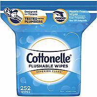504-Ct Total, Cottonelle FreshCare Flushable Wipes (Alcohol Free) - $10.62 w/S&S and Multi-buy Discount, (As Low As - $8.97)