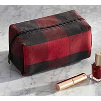 Pottery Barn - Buffalo Check Cosmetic Cube $  7 + FS (Reg. $  19)
