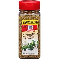 McCormick 2.12-oz Oregano Leaves $3.35 w/ S&S + Free S/H