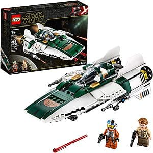 Prime Members: 269-Piece LEGO Star Wars: The Rise of Skywalker Resistance A Wing Starfighter (75248) $19 + Free S&H w/ Prime or $25+