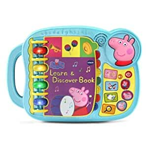 VTech Peppa Pig Learn & Discover Book $13.60 + Free Shipping w/ Prime or $25+