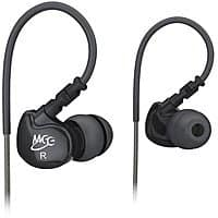MEE audio Sport-Fi M6 Noise Isolating In-Ear Headphones with Memory Wire $  11.99