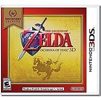 Amazon: $16  Nintendo Selects: The Legend of Zelda Ocarina of Time 3D