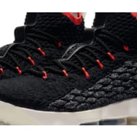 Nike Men's LeBron 15 Basketball Shoes High Top BLack and RED was $184.99 Now Only 69.98 $69.98