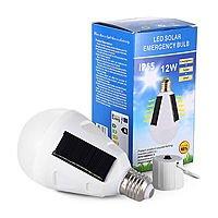 Portable 12W Solar Panel Powered LED Bulb Light Emergency lamps camping light $  5.7
