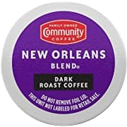 36 count Community Coffee Signature Blend Coffee Pods, Dark Roast or New Orleans Blend, $9.57 AC w/ S&S