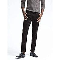 "Banana Republic Men's Slim or Straight Black Rinse Jean for $  23.99 after discount code ""holiday"""