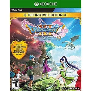 Dragon Quest XI S: Echoes of an Elusive Age Definitive Edition (Xbox One or PS4) $24.99 + Free Shipping w/ Prime or on orders over $25