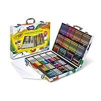 Crayola 140 Count Art Set, Rainbow Inspiration Art Case $15.79