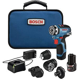 Bosch Brushless flexclick 5-in-1 drill/driver for $150 plus tax