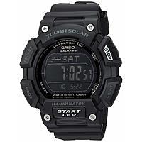 Casio Tough Solar Men's Stainless Steel Quartz Sport Watch $7