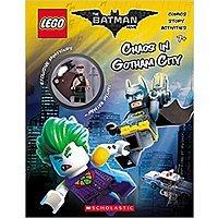 LEGO Batman Movie: Chaos in Gotham City Activity Book w/ Minfigure  $1.80