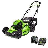 "Greenworks 60V Brushless Li-Ion 21"" Self-Propelled Lawn Mower w/ 5Ah Battery $319"