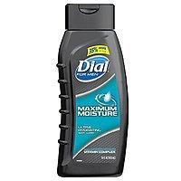 Dial for Men Body Wash, Maximum Moisture with Moisturizing Vitamin Complex, 16 Fluid Ounces $3 S&S + FS