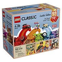 442-Piece LEGO Classic Bricks on a Roll: 60th Anniv. Edition $25