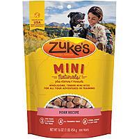 Amazon: Zuke's Mini Naturals Training Dog Treats Pork Recipe, 16oz. for $6.21 or less with S&S
