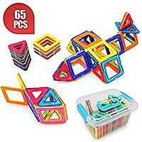 64pc Magnetic building blocks for $  20 @ Amazon