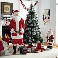 7-Piece Holiday Time Santa Claus Suit $12 + Free S&H on $35+