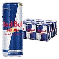 24-Pack of 8.4-Oz Red Bull Energy Drink $20.89, Sugar Free $21 (or less) w/ S&S + Free S&H