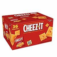 36-Ct 1.5oz Cheez-It Original Cheese Crackers $5.98 w/ S&S + Free s/h
